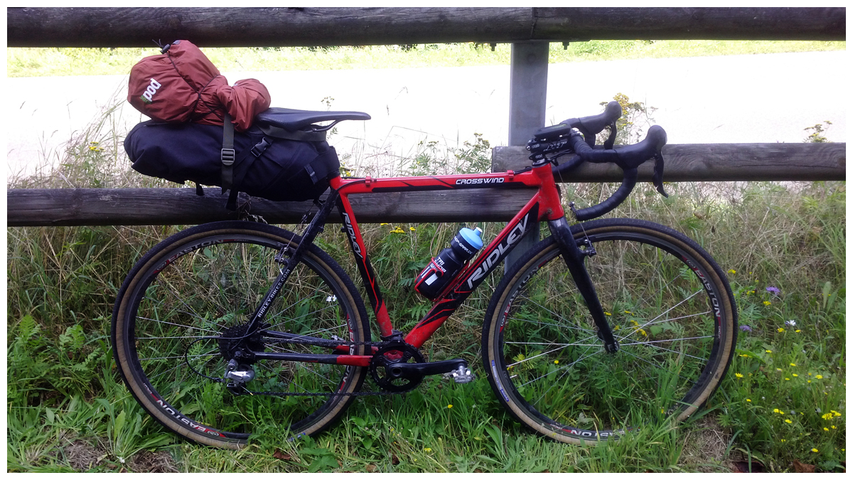 Bike neu gepackt