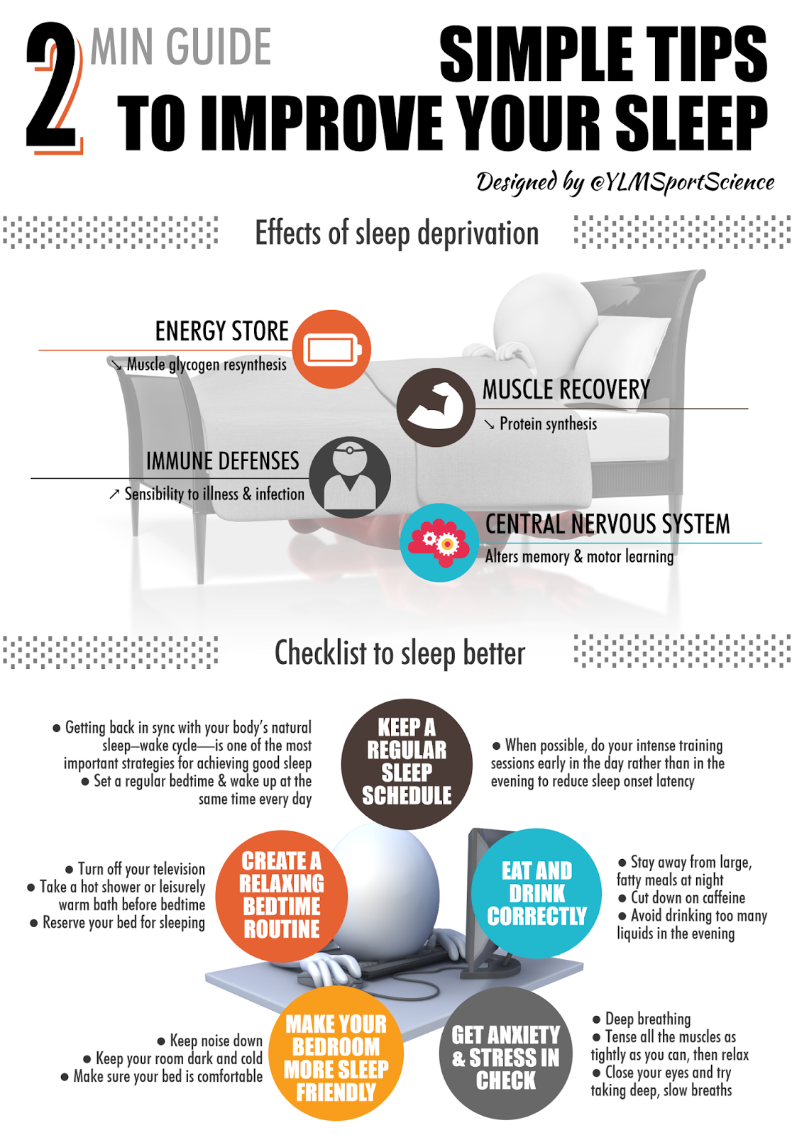 Simple Tips to improve your sleep
