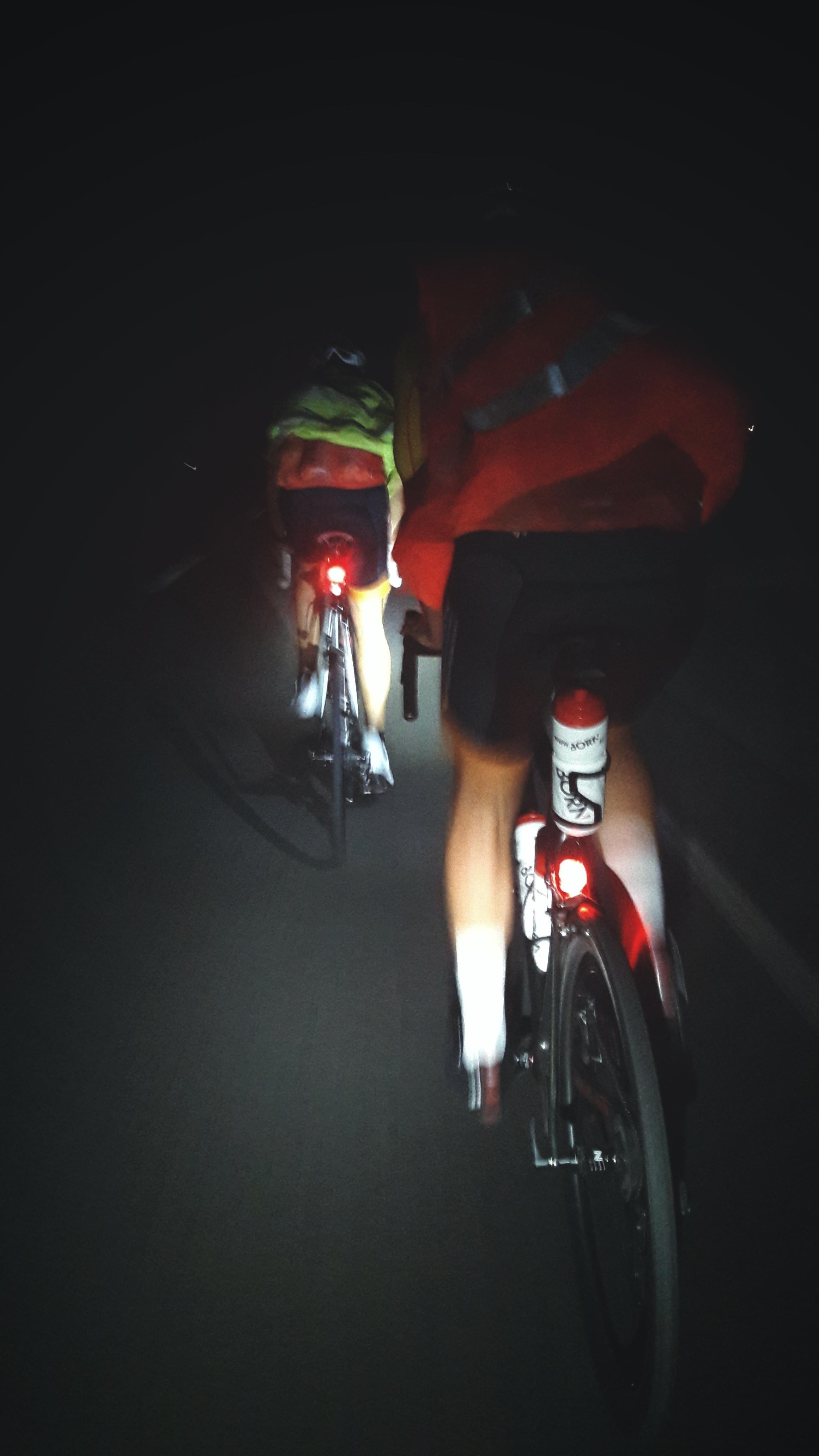 Unterwegs im dunkeln